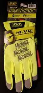 Mechanix Wear The Safety Fastfit Gloves Black / Hi-Viz yellow (L)