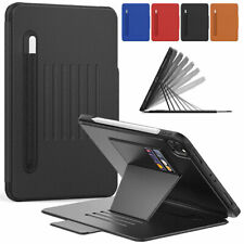 "For iPad Pro 11"" 2020 5/6/7th 10.2'' Air Mini Smart Leather Case Card Slot Cover"