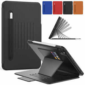 """For iPad Pro 11"""" 2020 10.2'' 2019 9.7"""" Air 2 Mini 5 Leather Case Card Slot Cover"""