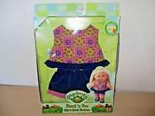 1999 CABBAGE PATCH KIDS MIX & MATCH FASHIONS *FLORAL 'n FUN* MATTEL SEALED NOS