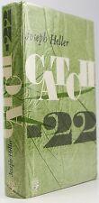 CATCH 22*JOSEPH HELLER*1st UK EDITION*ORIGINAL DUSTJACKET*1962*AMERICAN FICTION*