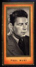 Carreras Film Favourites 1938 - Paul Muni No. 21