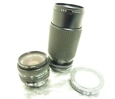 Canon f2.8 50mm 1:1.8 Prime T50 SLR Camera Lens with a Focal MC Auto Zoom