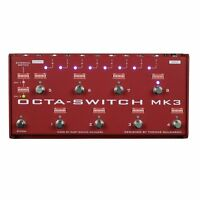 Carl Martin Octa-Switch MK3 Multi-Effects Looper Guitar Pedal +Picks