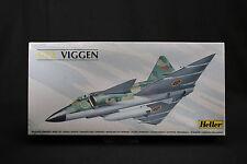 YR033 HELLER 1/72 maquette avion 80325 Swedish Air Force 1980 Viggen