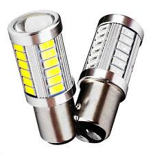 Lampadina 12V per auto BAY15D 1157 P21/5W 33 LED rosso giallo bianco freddo