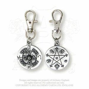 Alchemy England Gothique Pewter Talisman Prana Puissant Talisman En Étain Exclus