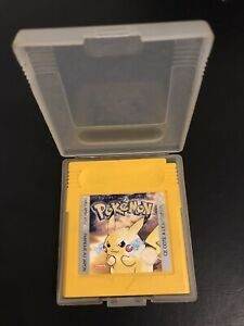 pokemon version jaune Game Boy