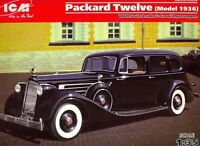 ICM 35535 Packard Twelve (Model 1936) Assembly kit model 1:35