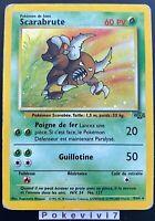 Carte Pokemon SCARABRUTE 9/64 HOLO Jungle Wizard FR