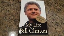 "BILL CLINTON signed 2004"" My Life"" 1st Edit book signed Hue-Man Bookstore-Harlem"