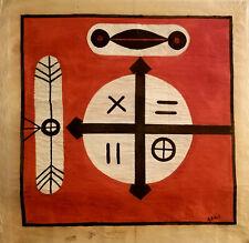 RARE 1963 Cuba Fine Art: Signed Original by ANTONIA EIRIZ ~ LA RAMPA PROJECT