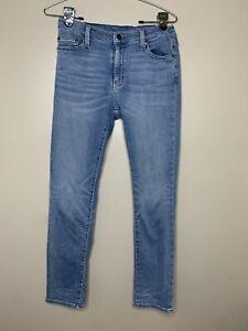 Crewcuts J. Crew Girls Soft Skinny Fit Medium Wash Blue Denim Jeans Sz 14