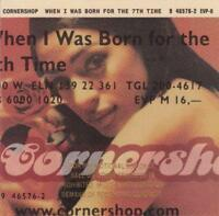 CORNERSHOP - When I Was Born For The 7th Time (CD 1997) USA Promo EXC Big Beat