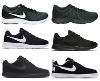 Nike Mens TANJUN COURT BOROUGH LOW Trainers Running Gym Shoes Black