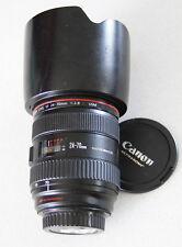 Canon EF 24-70mm f/2.8 L USM Lens Macro + EW 83 Hood +++