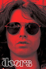 THE DOORS JIM MORRISON RED LP1262 POSTER