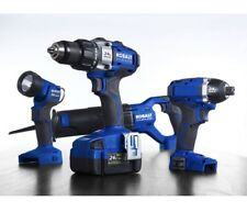 Kobalt 4-Tool 24V Max Lithium Ion Brushless Cordless Combo Kit KLC4024A