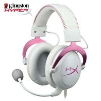 Kingston HyperX Cloud II Girl's Gaming Headset for PC & PS4 Pink Black