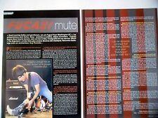 COUPURE DE PRESSE-CLIPPING : FUGAZI [2pages] 01/2003 Guy Picciotto,The Argument