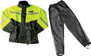 Fly Racing 2 Piece with Rainsuit Relective Accents Yellow/Black