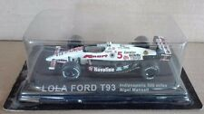 """DIE CAST """" LOLA FORD T93 INDIANAPOLIS 500 MILES """" RALLY DEA SCALA 1/43"""