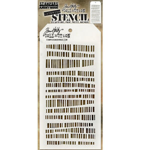 Tim Holtz Layering Stencil Code Stencil ths102 Stampers Anonymous