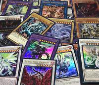 YUGIOH! 💎PREMIUM💎 DRAGONS LOT! GUARANTEED BLUE-EYES WHITE DRAGON! ALL HOLO!