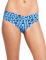 ATHLETA Tie Dye Medium Tide Bikini Swim Bottom BORA BORA BLUE Size XS