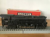 VINTAGE 1950 LIONEL 681 LOCOMOTIVE WITH SMOKE CHAMBER O GAUGE