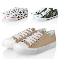 Hailys Damen Sneaker Low Top Print Sportschuhe Damenschuhe Sommer Schuhe