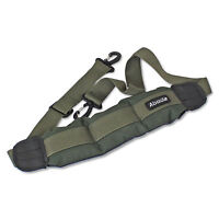 ABODE® Adjustable Padded Carp Fishing Bedchair Chair Carry Strap