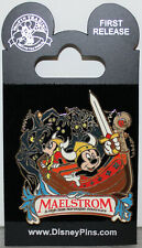 2008 WDW DISNEY EPCOT FIRST RELEASE PIN ~NORWAY MAELSTROM MICKEY MINNIE VIKINGS~