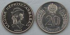 Ungarn / Hungary 20 Forint 1989 p630 unz.