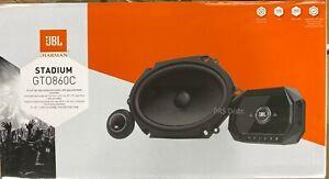 "JBL Stadium Series GTO 860C 1 Pair 6x8 Component Speakers w/ 1"" Tweeter GTO860C"