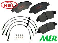 HEL PERFORMANCE HONDA CIVIC EK1 EK3 EK4 EJ9 TRACK DAY FRONT BRAKE PADS & LINES