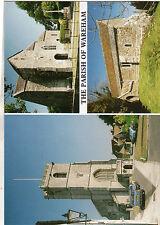 OLD POSTCARD-DORSET -The Parish of Wareham- multiview- Michael J Allen 1991