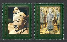 UN / Vienna office - 1997 UNESCO - China - Terracotta Army Mi. 238-39 MNH