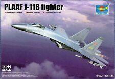 Trumpeter 03915 The PLAAF J-11B Plastic Model Airplane Kit 1/144 Scale