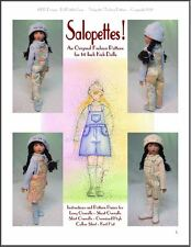"""Salopettes!"" Fashion Pattern for 14"" Kish Chrysalis"
