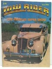 Lowrider Performance Artistry Pride Culture Car Magazine Issue June 1984
