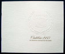 Prestige prospectus brochure 1980 CADILLAC (USA)