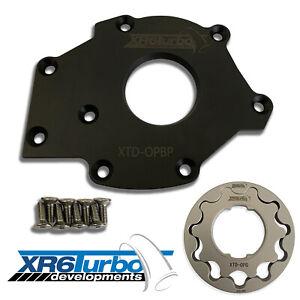 XR6 Turbo Developments BA BF FG Barra Billet Oil Pump Gears & Backing Plate
