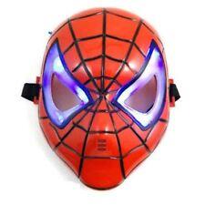 Spiderman Mask Kids Fancy Dress Superhero Hero Spider Man Masks Marvel LED Eyes