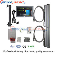 2-Axis Micro Lineaer Scale Digital Readout System for Mill Lathe Machine