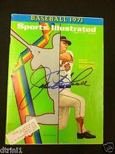 Boog Powell Autograph Sports Illustrated April 12, 1971 Magazine Auto