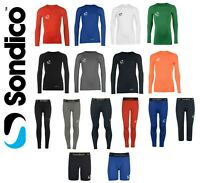 New Sondico Boys Age 5-13 Base Layer Long Sleeve Top Bottoms Leggings skins