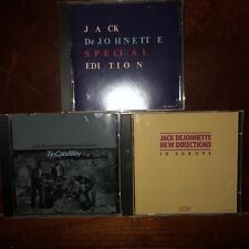 Jack DeJohnette, 3CD LOT: Special Edition, Tin Can, Europe