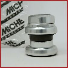 "NOS MICHE HEADSET 1""+1/4 ALUMINIUM ITALIAN THREADED VINTAGE THREAD 80s 90s MTB"