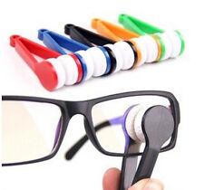 FD412 Mini Sun Glasses Eyeglass Microfiber Brush Cleaner Home Office Easy ~1PC:)